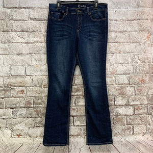 New York & Company Womens Bootcut Jeans Size 12x33